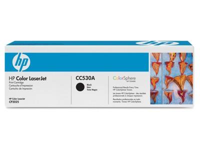 HP TONER CC530A / BLACK / Color Laserjet CM2320/CP2025 / 3,500P
