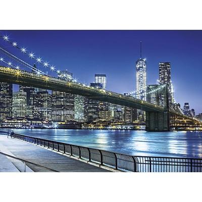 직소퍼즐 [1500조각] - 뉴욕 브룩클린 브릿지 야경(cl31804)