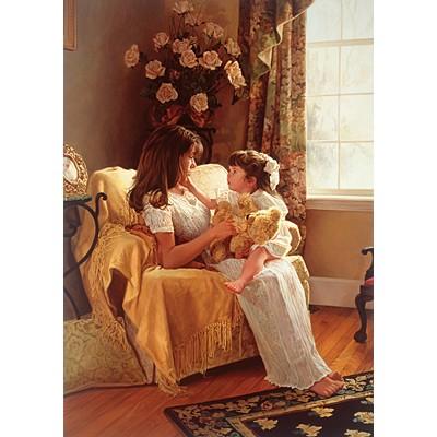 직소퍼즐 [1500조각] - 엄마와 여자아이 (PR4514)
