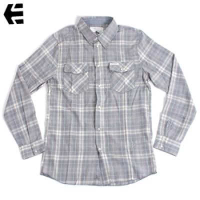 [Etnies] QUE ONDA WOVEN L/S (Light Grey)
