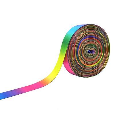 Rainbow 양면 포장리본끈 폭19mm 길이약45m CH1660688