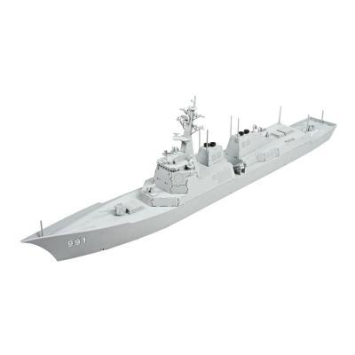 1/300 목재 입체퍼즐 - 영공방 DDG-991 세종대왕함