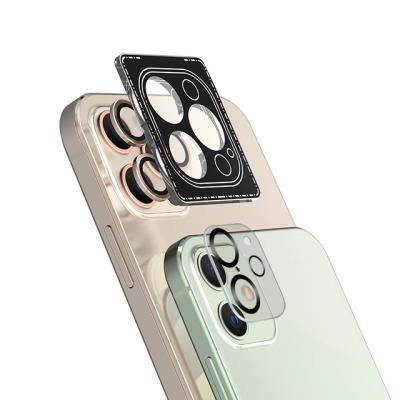 고부기 아이폰12 프로맥스 컬러 메탈핏 렌즈 강화유리