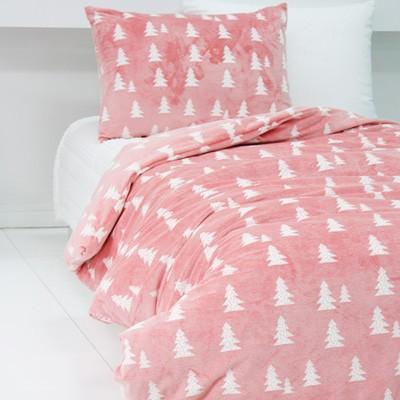 극세사침구세트 - 노르웨이숲 핑크