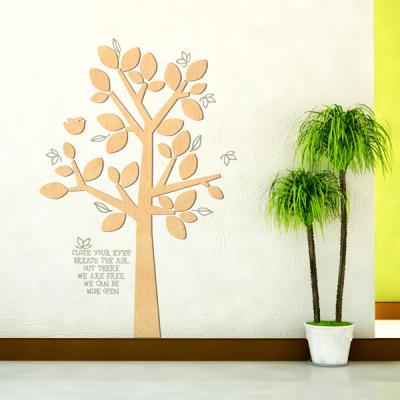 [우드스티커] 동화같은나무 (반제품)