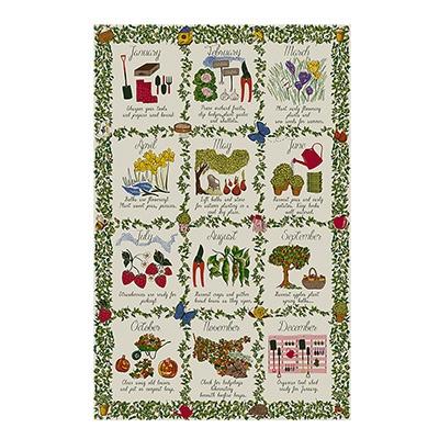 [울스터위버스] 가드너스 캘린더 (Gardeners Calendar) 면 티타올(UK)