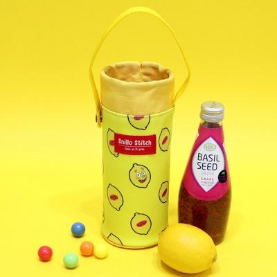 [스닐로스티치] 스닐로 레몬 보냉 물병 파우치