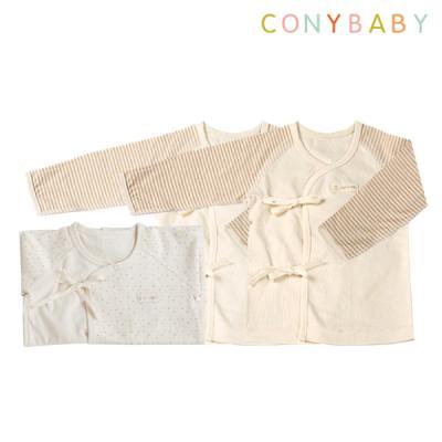 [CONY]출산3종세트(핑크배냇가운+배냇저고리2개)