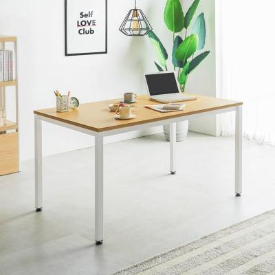 철제 1인용 일자형 책상 테이블 1200 22T (일자다리)