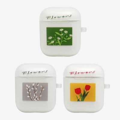 식물도감 에어팟 케이스