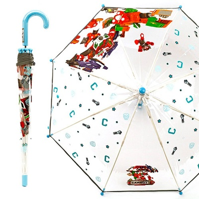 헬로카봇7 유니 스핀 40 POE 우산 블루