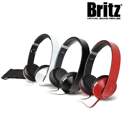 브리츠 접이식 3단 폴딩 헤드폰 H750P (통화+음악 / 마이크탑재 컨트롤러 / 플랫형 와이어 / 케이블 아답터)