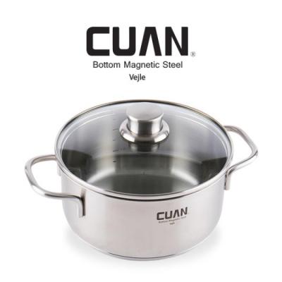 [CUAN] 쿠앤 바일레 스텐레스 냄비 20양수