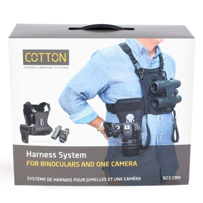 코튼 Camera Harness for 1 Camera and 1 Binocular
