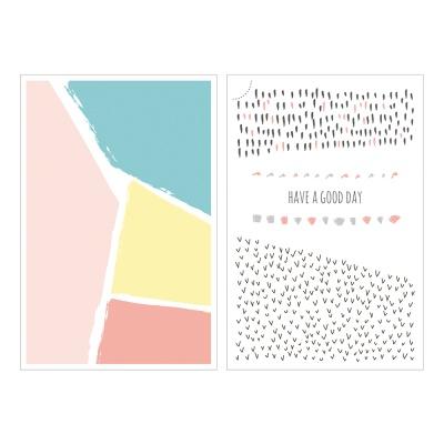 Miccudo 프린트-온 스티커 (15.Square)