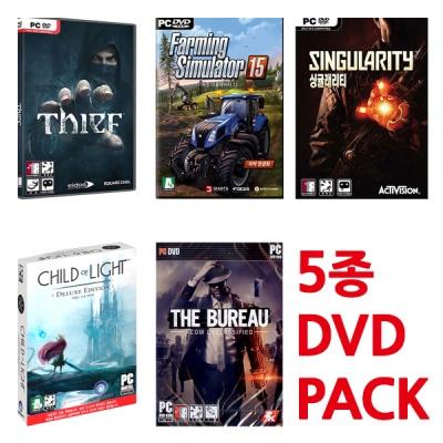 PC 차일드 오브 라이트 포함 5종 초특가 (DVD/새제품)
