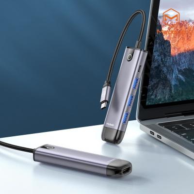 맥도도 5 in 1 C타입 USB 멀티 확장 허브 어댑터