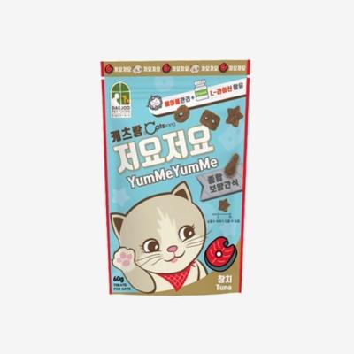 고양이간식 저요저요 참치맛(60g) 캣 영양식 건식먹이