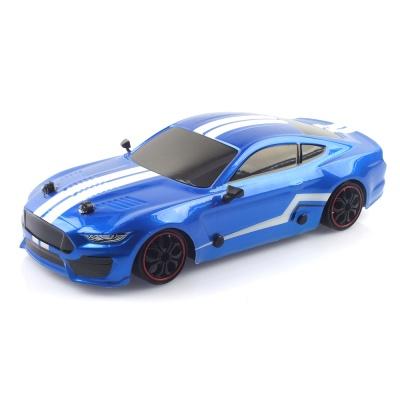 2.4GHz 1/16 4WD 머스탱 드리프트카 무선조종RC 블루