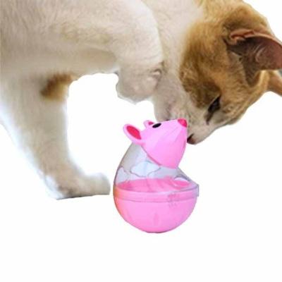 고양이 먹이장난감 쉑쉑 마우스 스낵볼(핑크)