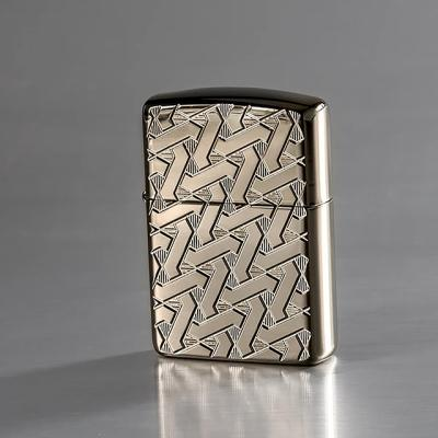 ZIPPO 49173 Armor® Geometric Weave Design