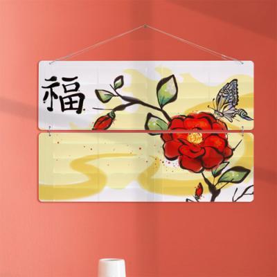 nk458-멀티아크릴액자_아름다운꽃과나비(2단대형)