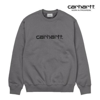 칼하트WIP Carhartt Sweatshirt (Husky / Black)