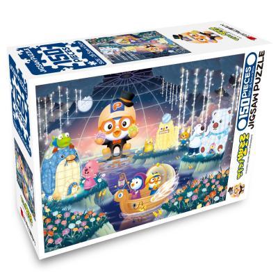 뽀롱뽀롱 뽀로로 직소퍼즐 150PCS : 숲속의 정원