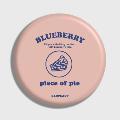 [어프어프] 손거울 piece of pie-Indy pink