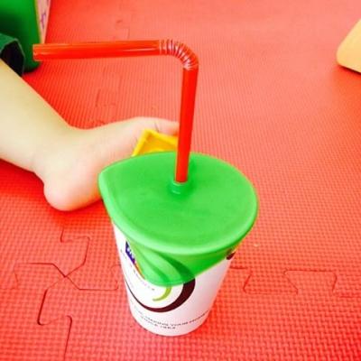 Bitatto 비타토머그 그린 빨대컵 실리콘100% 흘림방지
