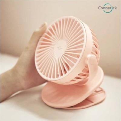 커네틱 클립형 탁상용 무선 미니 선풍기