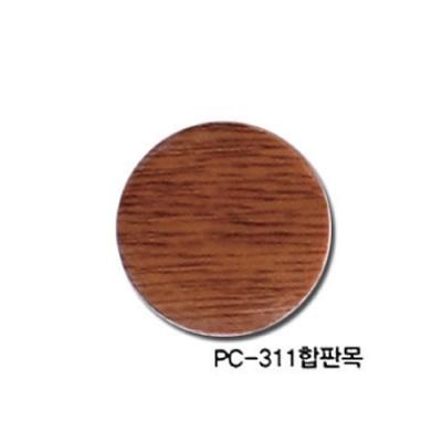 [현진아트] PC무늬보드롱 5T (PC-311합판목) 6x9 [장/1]  147942