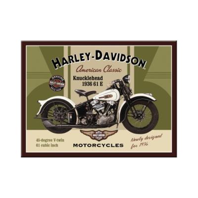 노스텔직아트[14224] Harley-Davidson Knucklehead