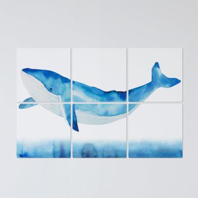 cf413-멀티액자_등푸른고래