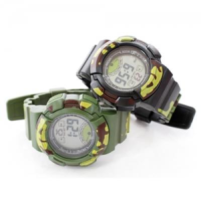 포포팬시 밀리터리 디지털 손목시계 Small
