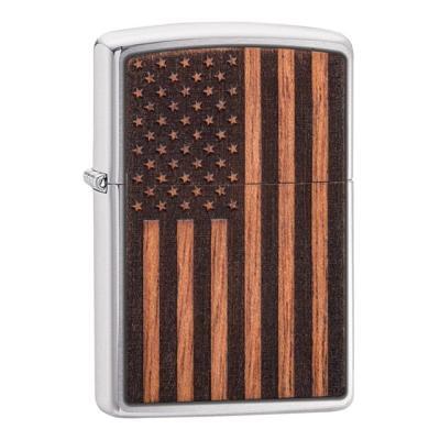 ZIPPO 라이터 29966 WOODCHUCK USA American Flag