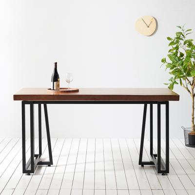코디 1400x600 우드슬랩 식탁 4인용 테이블