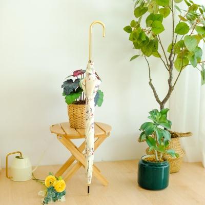 wpc우산 바이어스 쁘띠 플라워 장우산 17268-09