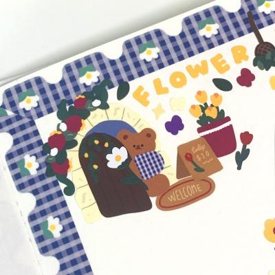 빈티지꽃집 오메베어 스티커