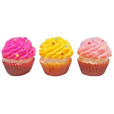 애견장난감 펫투유 우쭈쭈 컵케익 장난감 낱개 1개