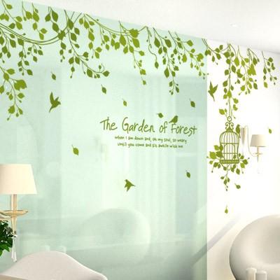 숲속의 정원 [인테리어스티커/포인트스티커/데코스티커/홈데코]