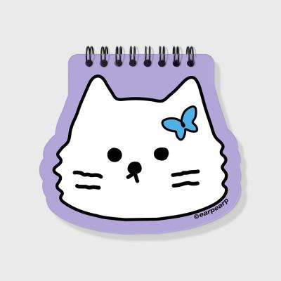 Awesome cat-purple(스프링노트)(S)