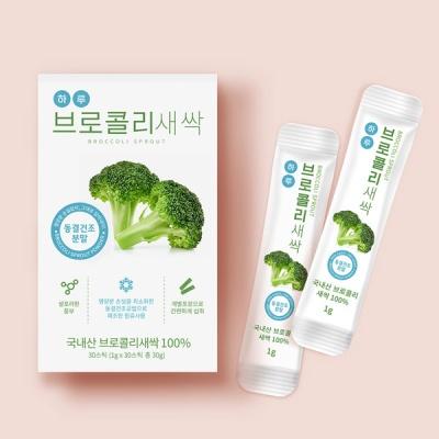 하루브로콜리새싹 국내산 100% (1g x 30스틱)_1박스