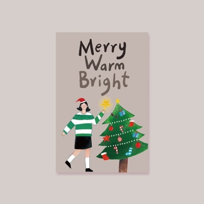 [카드] MERRY WARM BRIGHT