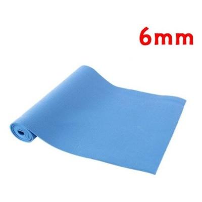 아이워너 PVC 요가매트 6mm(파랑) 필라테스매트 운동