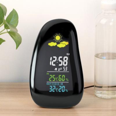 날씨예측 온습도계 알람시계