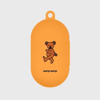Hi bear-orange(buds jelly case)