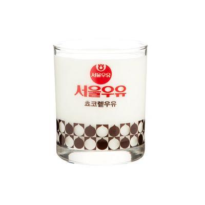 [본사정품] 서울우유 레트로 빈티지컵 초코우유 1P