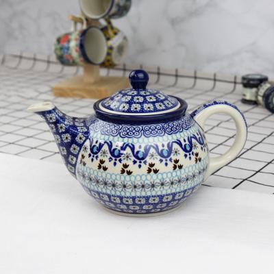 폴란드그릇 아티스티나 티포트티팟주전자 패턴1026