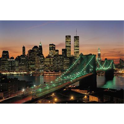1000피스 직소퍼즐 - 브루클린 브릿지의 야경 (야광)